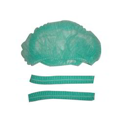 Disposable Non-Woven Surgical Bouffant Cap