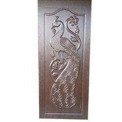 Carved Fiber Door