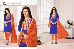 3/4 Sleeve Madhushala Salwar Suit Fabric