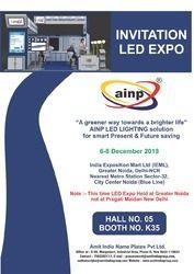 LED EXPO INVITATION