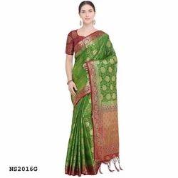 Fancy Kanjicaram Silk Saree