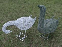 Garden Iron Wire Birds