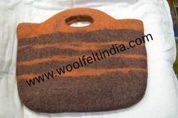 Felt Brown Bag