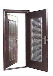 Double Steel Security Door