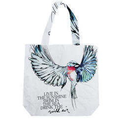 Cotton Bags with Digital Print on Logo