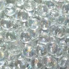 Transparent Glass Pebbles