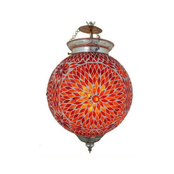 Mosaic Hanging Light