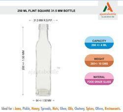 250 Ml Oil Glass Bottle