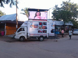 6 x 8 ft LED Display Screen Van