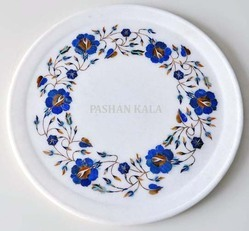Inlay Marble Decorative Plate