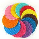 Silicone Round Coasters