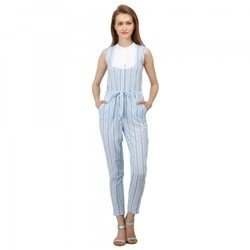 Stripe Western Ladies Jumpsuit