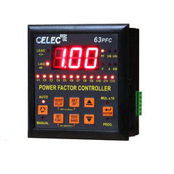 8-Channel Automatic Power Factor Relay