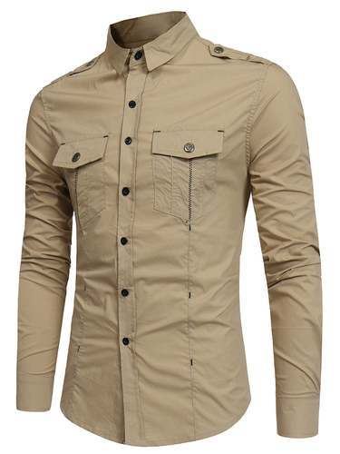bc788a4bbd Double Pocket Cargo Shirt