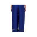 Ladies Royal Blue Palazzo Pants