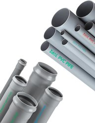 UPVC Gray ISI Ring Fit PVC Pipes