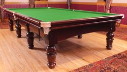 Snooker Table In Aramith Ball