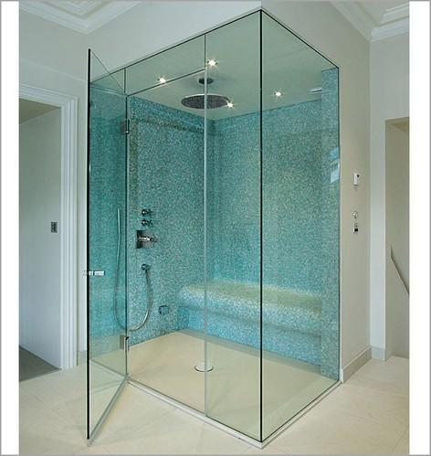 Aluminum Bathroom Doors And Windows Bathroom Shower Area Glass - Glass panel bathroom door