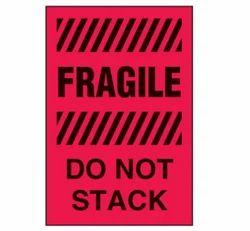 Fragile Do Not Stack Labels