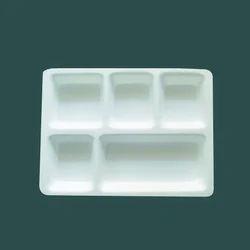 Acrylic 5 Portion Tray