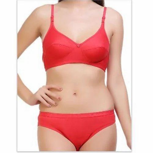 Ladies Bra And Panty Sets - Plain Ladies Bra Panty Set Manufacturer from  New Delhi a9b594ff1