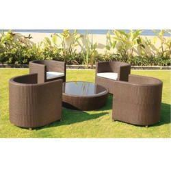 PE Rattan Wicker Furniture Set