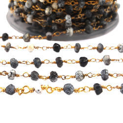 Dendrite Opal Beaded Chains