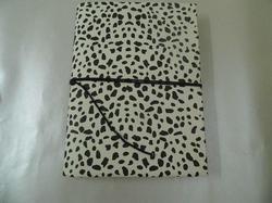 Leopard Print Handmade Paper Notebooks