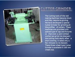 Nail Machine Cutter Grinder