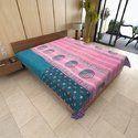 Countless Blankets-Kantha Throws-Kantha Quilts-Indigo Kantha-Kantha- Banjara Quilt