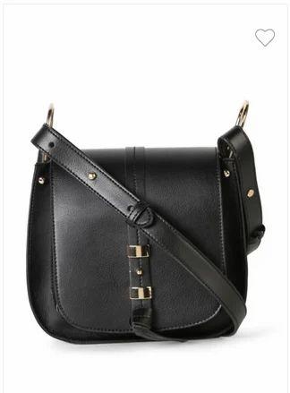 Women Bags - Van Heusen Black Sling Bag VWBG517A00041 Authorized ... e9846889f8658