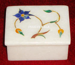 Inlay Stone Box