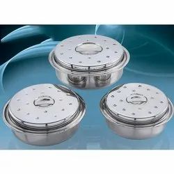 Roaster Stainless Steel Food Steamers Set