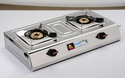 Two Burner SS LPG gas Stove