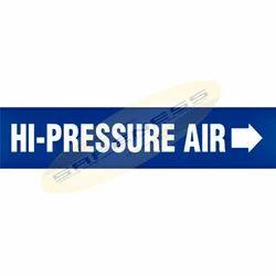 Hi-Pressure Air Duromark Pipe Markers