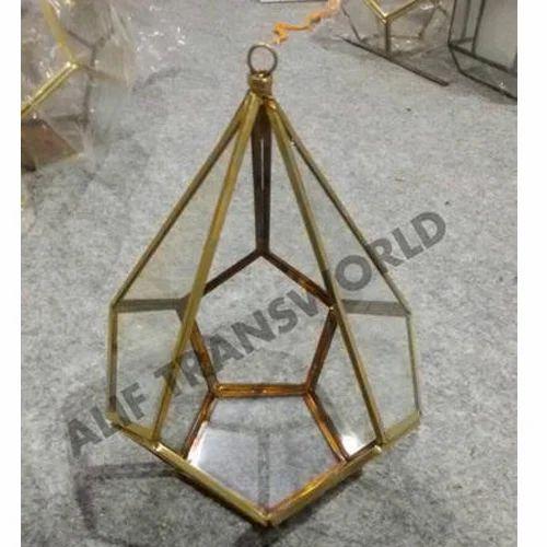 Designer Terrariums Geometric Metal And Glass Terrarium Wholesale
