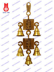 Belt With Bell Krishna In Ring Hanging