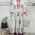 Anarkali Block Printed Kurties