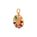 Navratna Locket For Men And Womens