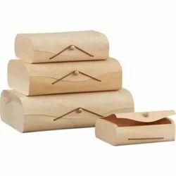 Handmade Birch Veneer Boxes