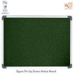 RKS Tenta Pin Up Green Notice Board