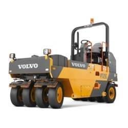 Pneumatic Tyred Roller Rental Services