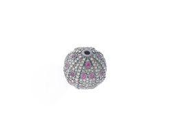 Ruby Gemstone Ball Findings