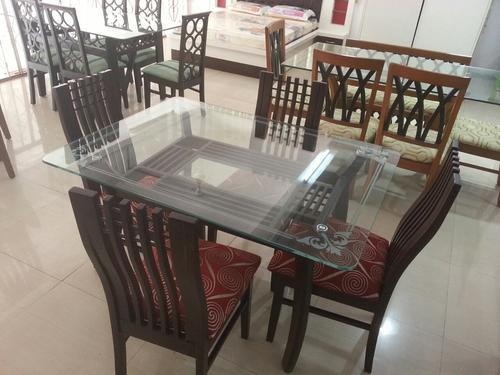 Elegant Glass Dining Table