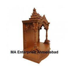 Wooden Temples - Wooden Pooja Mandir Temple Manufacturer from ...
