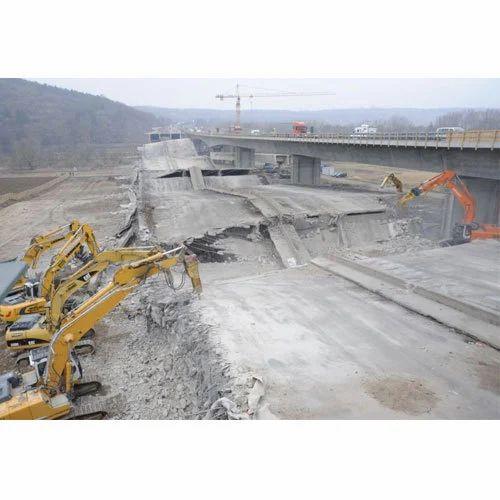 Heavy Foundation Demolition Services