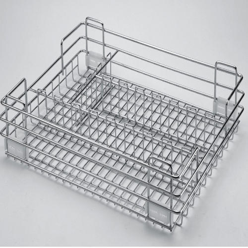 Steel Kitchen Basket
