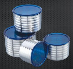 Acrylic Lid One Rich Lady Canister
