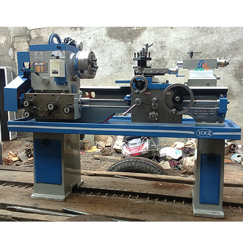 Industrial Lathe Machines 7 Feet Heavy Duty Lathe Machine Manufacturer From Rajkot