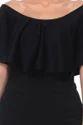 Black Off Shoulder Women Jumpsuit